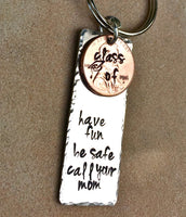 Graduation Gifts, Graduation 2016, Have Fun Be Safe Call Your Mom, Penny Gifts Graduation, Graduation keychain,natashaaloha - Natashaaloha, jewelry, bracelets, necklace, keychains, fishing lures, gifts for men, charms, personalized,