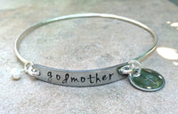 Gifts For Godmother, Godmother Bracelet, Godmother Gifts, Baptism Gifts, Personalized Godmother Jewlelry, natashaaloha - Natashaaloha, jewelry, bracelets, necklace, keychains, fishing lures, gifts for men, charms, personalized,
