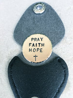 Prayer Keepsake, Father's Day, Husband Gifts, Prayer Keychain, Be Safe Come Home, One Day At A Time, Pray Faith Hope, natashaaloha - Natashaaloha, jewelry, bracelets, necklace, keychains, fishing lures, gifts for men, charms, personalized,