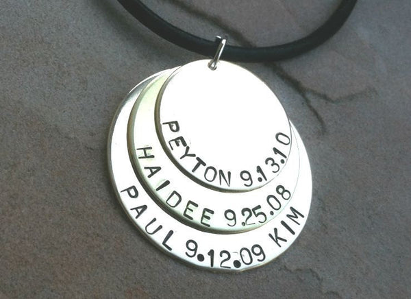 Personalized Mens Necklace, Boyfriend Necklace, Christmas Gifts For Dad