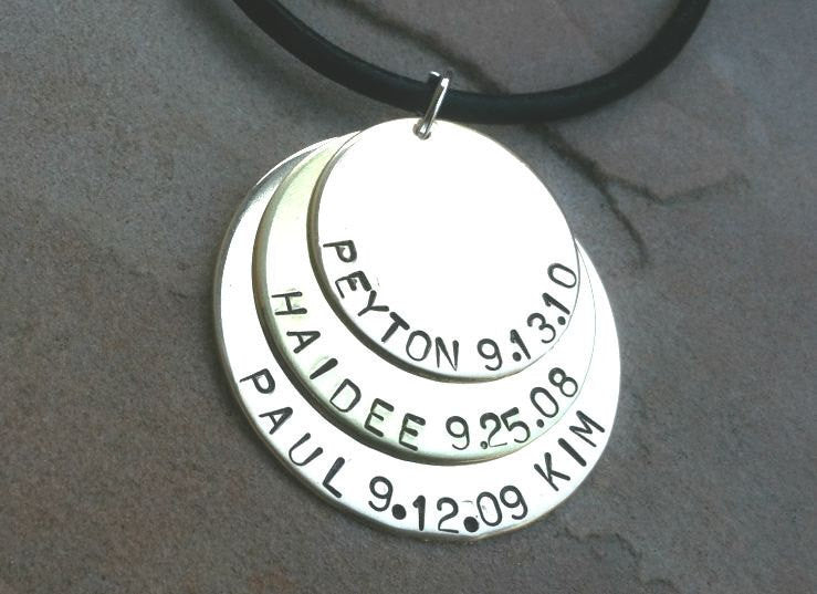 Men's Necklace, Boyfriend Necklace, Husband Necklace, personalized for dad, father necklace, dad necklace, gifts for dad,