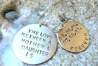 necklace, personalized necklace,gifts for her,Mother Daughter Necklace, mom, Daughter Necklace, the love between a mother and daughter - Natashaaloha, jewelry, bracelets, necklace, keychains, fishing lures, gifts for men, charms, personalized,