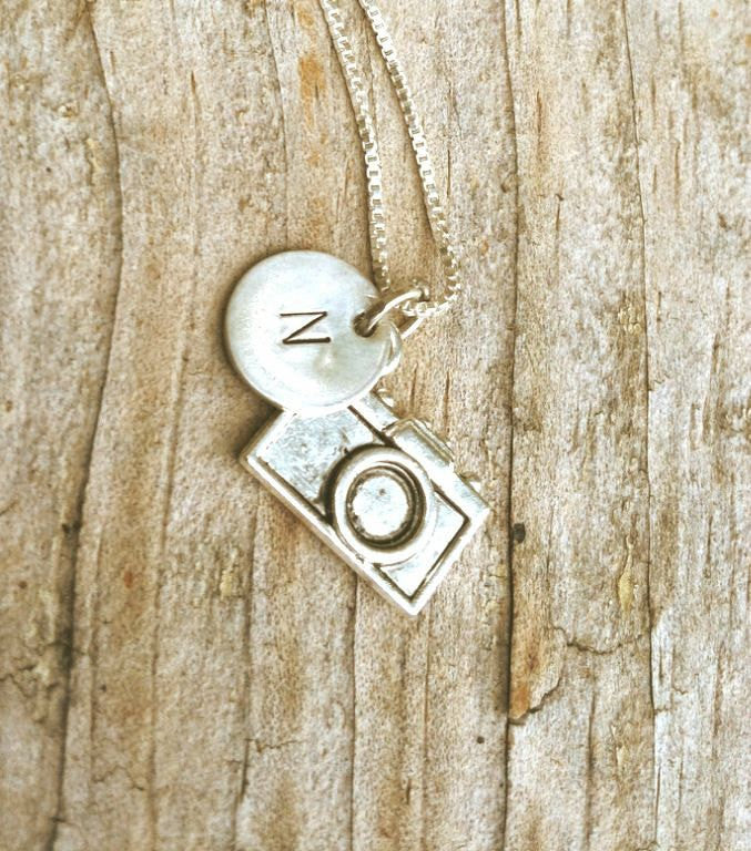 Personalized Photographer Necklace - Natashaaloha, jewelry, bracelets, necklace, keychains, fishing lures, gifts for men, charms, personalized,