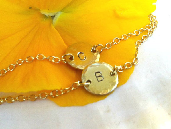 Baby Bracelet, Child's Bracelet, Monogram Bracelet - Natashaaloha, jewelry, bracelets, necklace, keychains, fishing lures, gifts for men, charms, personalized,