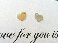 sterling silver heart charm, 14kt gold heart charm, hand stamped heart, initial heart, add a charm, custom options for hand stamped jewelry - Natashaaloha, jewelry, bracelets, necklace, keychains, fishing lures, gifts for men, charms, personalized,