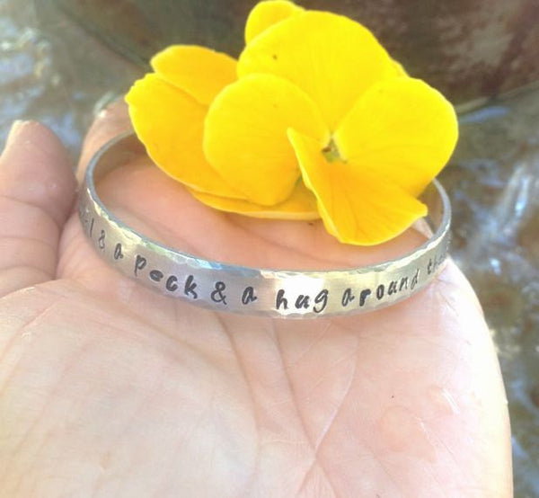 Mother Daughter Jewelry, I Love You A Bushel And A Peck Bracelet - Natashaaloha, jewelry, bracelets, necklace, keychains, fishing lures, gifts for men, charms, personalized,