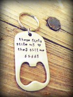 I Love You To The Moon And Back, key chain bottle opener,personalized key chain,engraved keychain, personalized keychains, for him - Natashaaloha, jewelry, bracelets, necklace, keychains, fishing lures, gifts for men, charms, personalized,