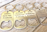 groomsmen gifts, for the groomsmen, personalized key chains, bottle opener, wedding gifts for groomsmen, custom key chains, best man - Natashaaloha, jewelry, bracelets, necklace, keychains, fishing lures, gifts for men, charms, personalized,