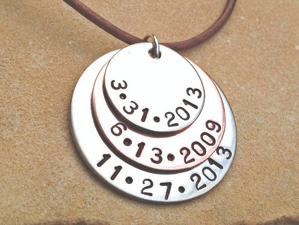 Personalized Mens Necklace, Boyfriend Necklace, Christmas Gifts For Dad - Natashaaloha, jewelry, bracelets, necklace, keychains, fishing lures, gifts for men, charms, personalized,