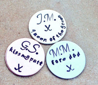 golf markers, gifts for dad, golf gifts, kiss my putt, queen of the green, fore dad, gifts for men, natashaaloha - Natashaaloha, jewelry, bracelets, necklace, keychains, fishing lures, gifts for men, charms, personalized,
