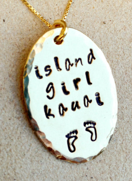 necklace, personalized gifts, kauai necklace, island necklace, hawaiian jewelry,necklace,, Mauai, Kauai, island jewelry, i love kauai - Natashaaloha, jewelry, bracelets, necklace, keychains, fishing lures, gifts for men, charms, personalized,