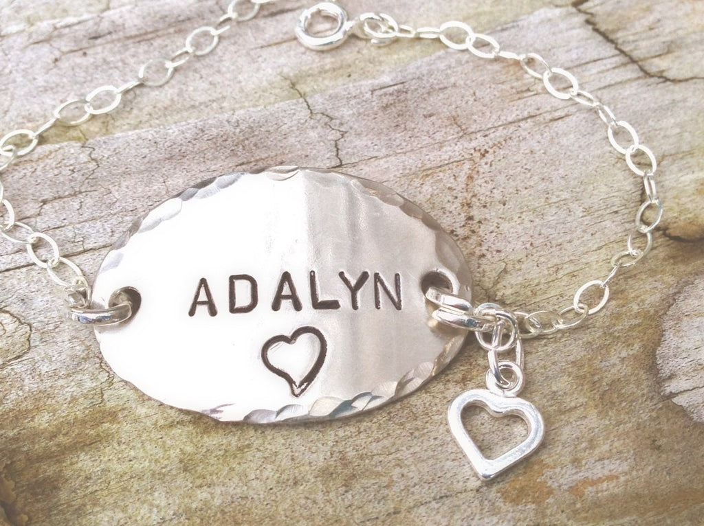 Personalized Children's Name Bracelets, Christmas Gifts Children - Natashaaloha, jewelry, bracelets, necklace, keychains, fishing lures, gifts for men, charms, personalized,