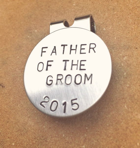 Golf Marker, Father Of The Groom, Father's Day, Boyfriend Gift, Father Of The Bride, Mens Gifts, Fathers Day Gifts, Golf Gifts - Natashaaloha, jewelry, bracelets, necklace, keychains, fishing lures, gifts for men, charms, personalized,