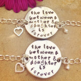 Mother Daughter Bracelet - Natashaaloha, jewelry, bracelets, necklace, keychains, fishing lures, gifts for men, charms, personalized,