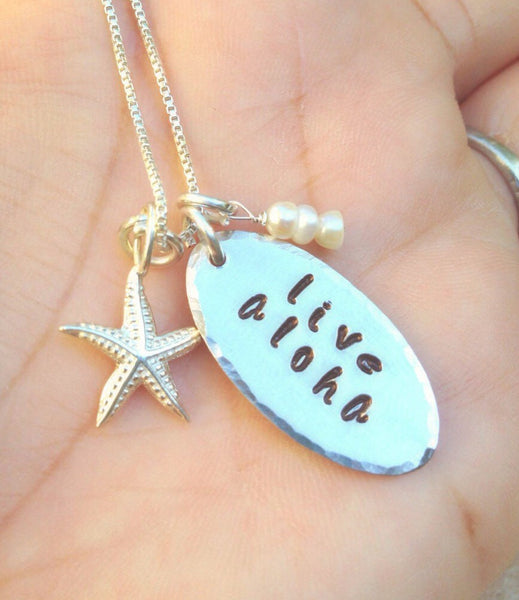 live aloha, Hawaiian Wedding, necklace, Hawaiian necklace, aloha necklace, gifts for her, Hawaiian, Mothers Day, personalized gifts - Natashaaloha, jewelry, bracelets, necklace, keychains, fishing lures, gifts for men, charms, personalized,