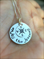 Graduation Gift, Follow Your Dreams, Enjoy the Journey Necklace - Natashaaloha, jewelry, bracelets, necklace, keychains, fishing lures, gifts for men, charms, personalized,