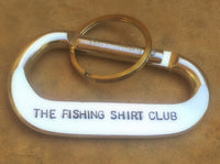 The Fishing Shirt Club Carabiner - Natashaaloha, jewelry, bracelets, necklace, keychains, fishing lures, gifts for men, charms, personalized,