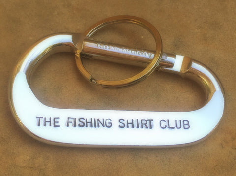 The Fishing Shirt Club Carabiner