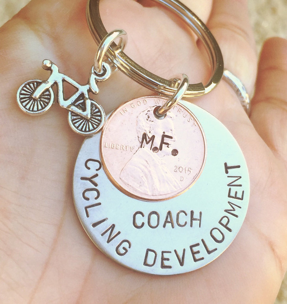 Mountain Bike Gift, Cycling Gift, Soccer Gift, Christmas Gift, High School Sports Keychain, Volleyball Keychain, Personalized Team Sports - Natashaaloha, jewelry, bracelets, necklace, keychains, fishing lures, gifts for men, charms, personalized,