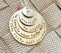 Inspirational Cancer Necklace - Natashaaloha, jewelry, bracelets, necklace, keychains, fishing lures, gifts for men, charms, personalized,