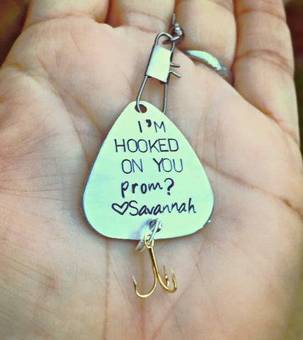 Personalized Fishing Lures - Natashaaloha, jewelry, bracelets, necklace, keychains, fishing lures, gifts for men, charms, personalized,
