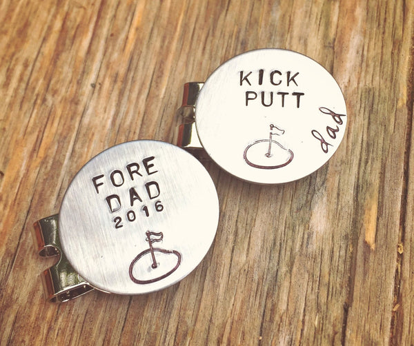 Golf Marker, Boyfriend Gifts, Golf Gifts, Husband Gift, Personalized Golf Marker, Hat Clip, Gifts for Dad, natashaaloha - Natashaaloha, jewelry, bracelets, necklace, keychains, fishing lures, gifts for men, charms, personalized,
