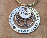 Teacher Gift, It Takes A Big Heart To Help Shape Little Minds, teacher gift, teacher appreciation, teacher key chain, teacher thank you gift - Natashaaloha, jewelry, bracelets, necklace, keychains, fishing lures, gifts for men, charms, personalized,