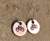 Bicycle, Arrow, Yoga Earrings - Natashaaloha, jewelry, bracelets, necklace, keychains, fishing lures, gifts for men, charms, personalized,