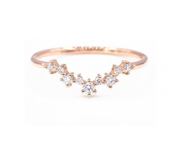 Aster Cluster Ring