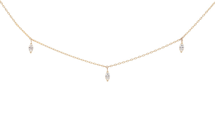Iris Diamond Necklace