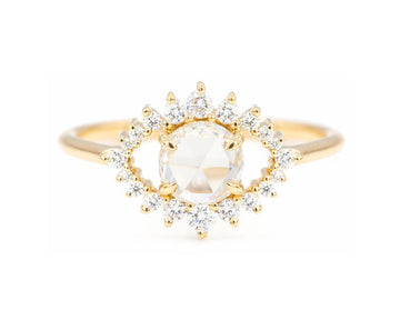 Sullivan Rose Cut Diamond Ring