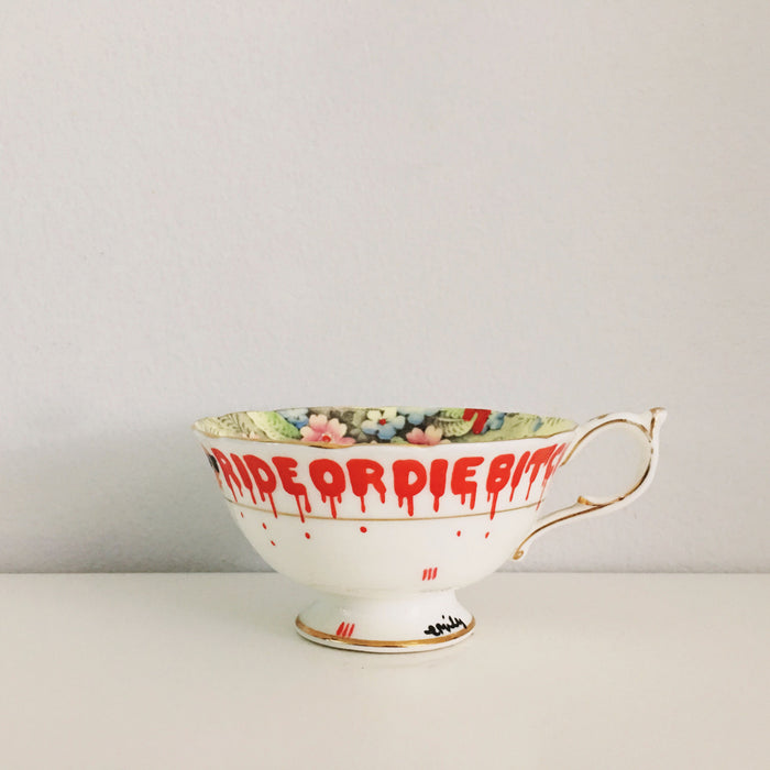 Ride or Die Teacup