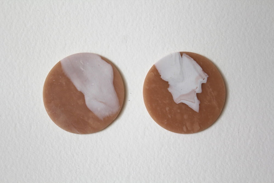 White Cloud Earrings