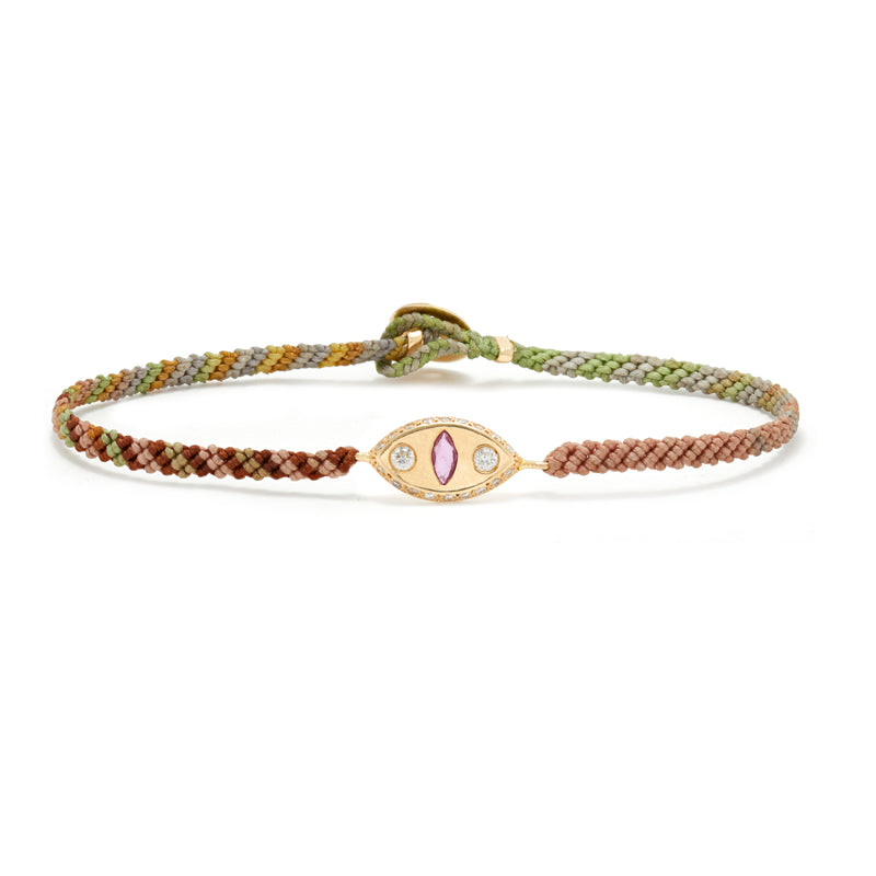 Makeda Bracelet with Ruby