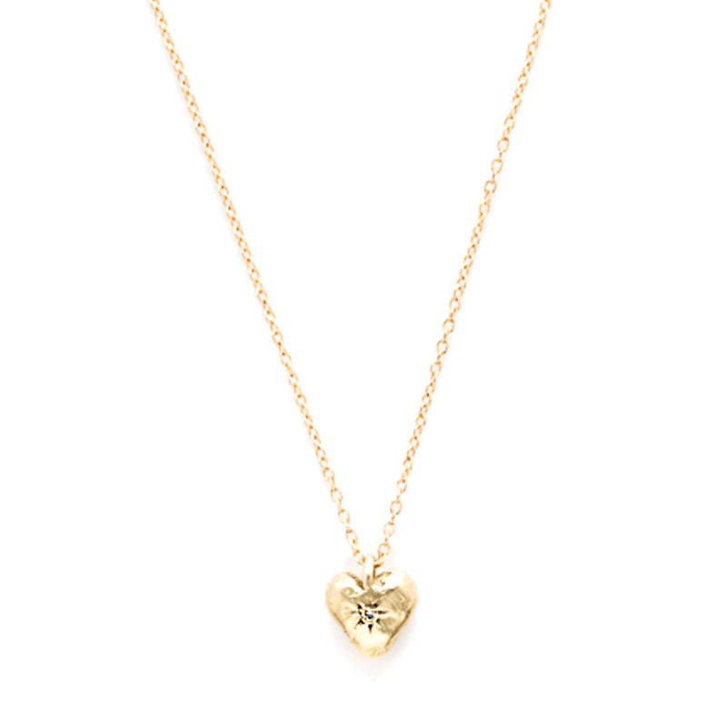 Heart Necklace in Gold