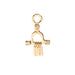 Temple Earring Charm in Gold