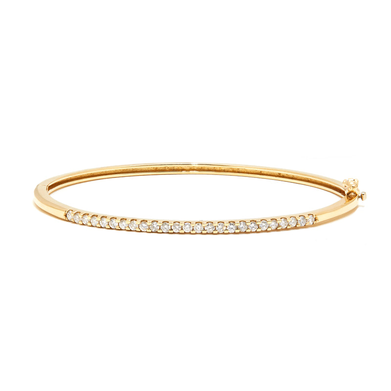 Classic Diamond Bangle