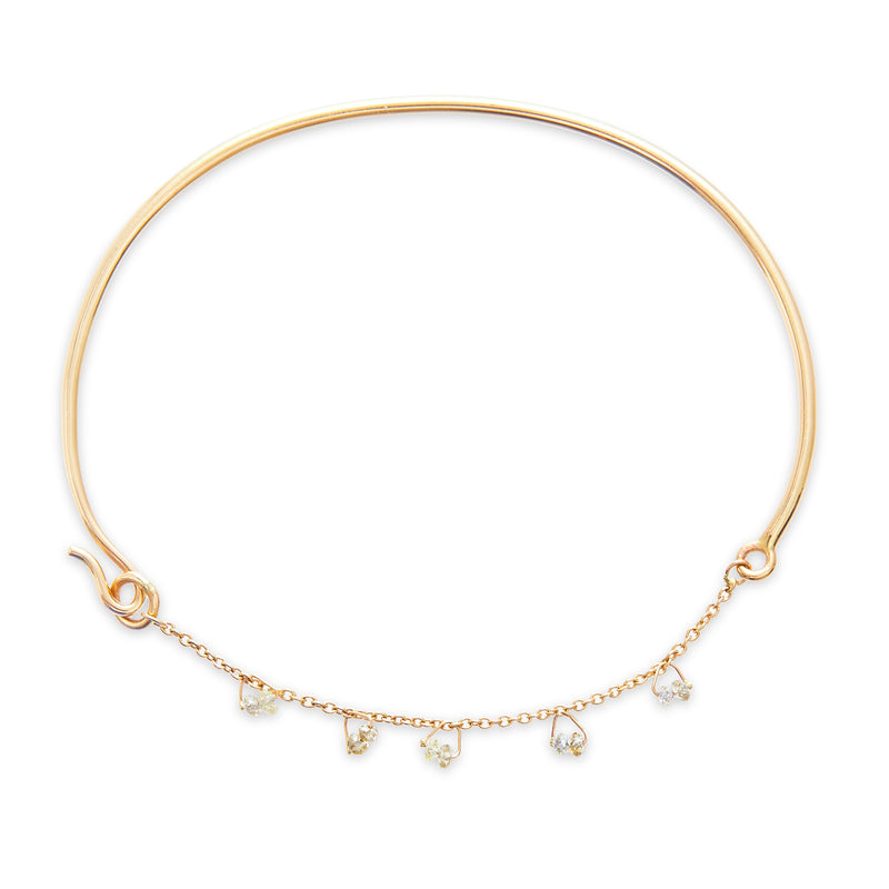 Diamond Beaded Cha Cha Bangle