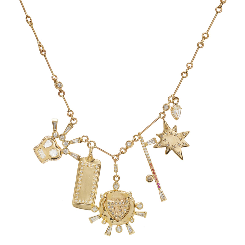 Wowza Charms Necklace