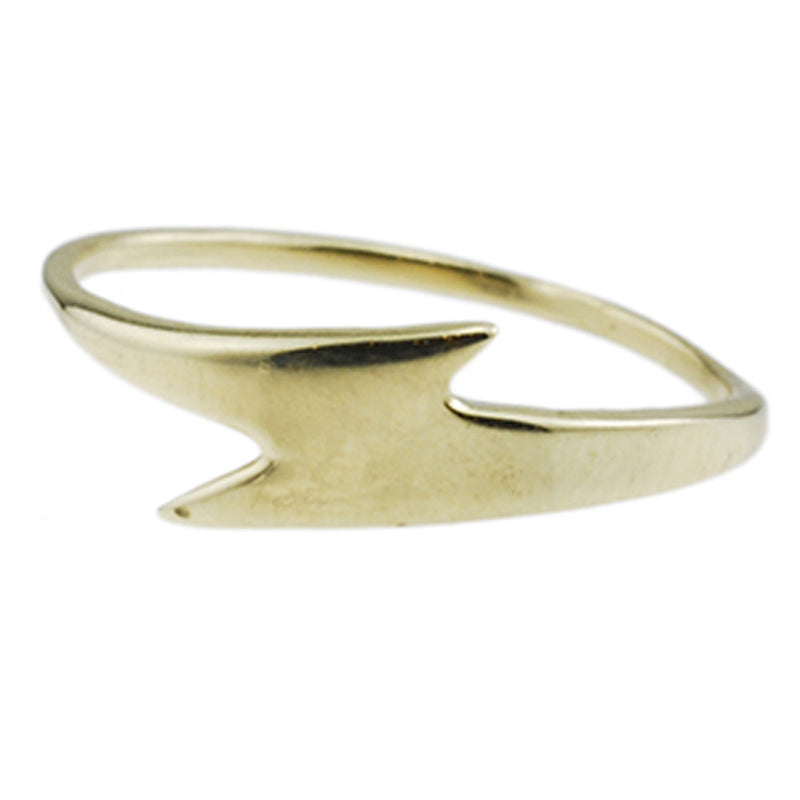 Bolt Ring in Gold