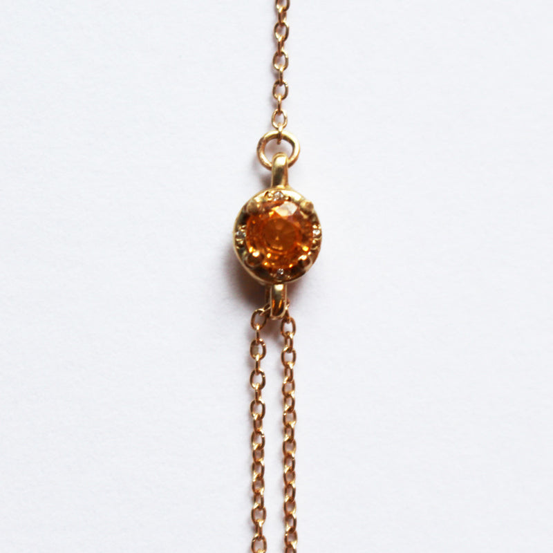Wildfire Lariat Necklace