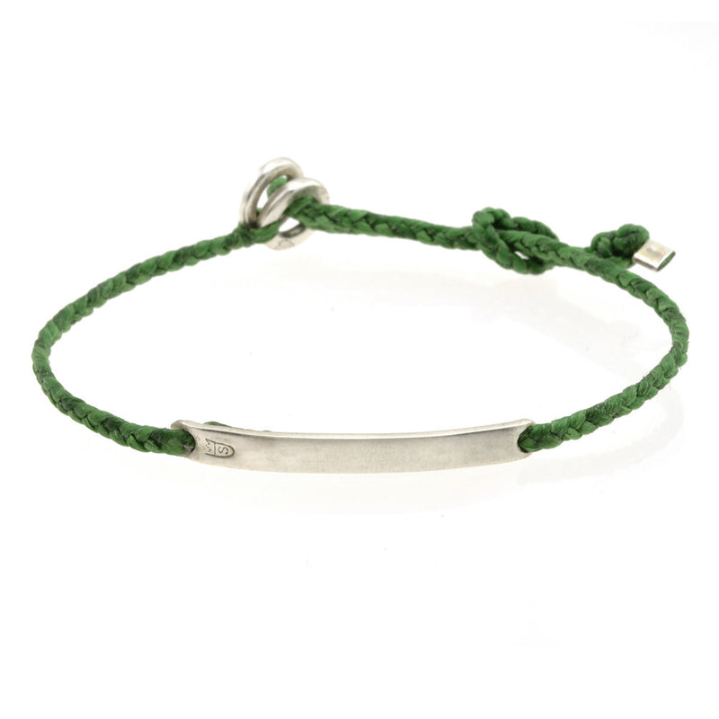 Mens Adjustable ID in Kelly Green