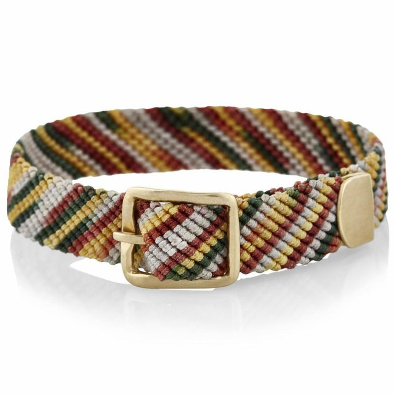 Belt Bracelet in Gold and Flyline