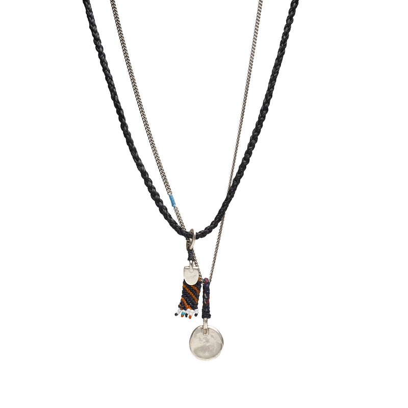 Merit Necklace in Black