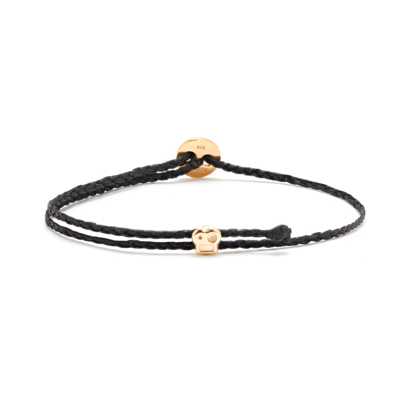 Signature Bracelet with Brian Slider in Black