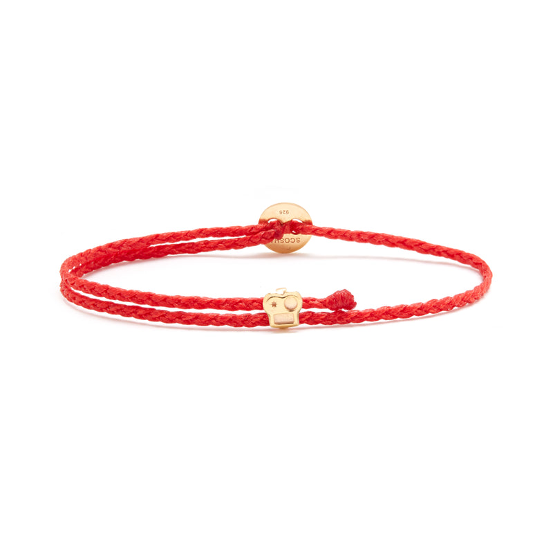 Signature Bracelet with Brian Slider in Fire
