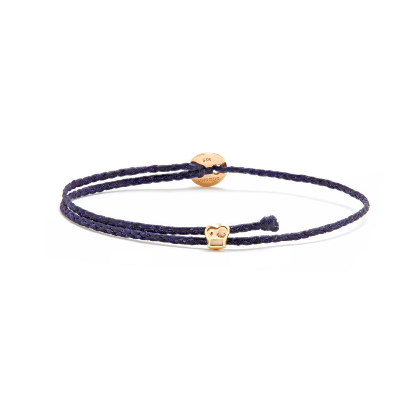 Signature Bracelet with Brian Slider in Indigo