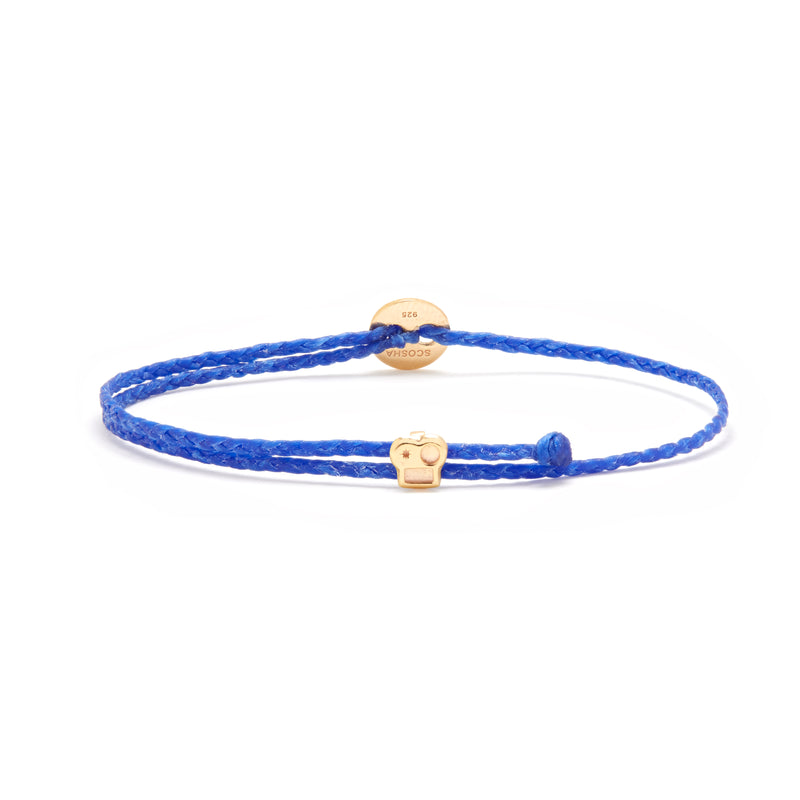 Signature Bracelet with Brian Slider in Royal Blue