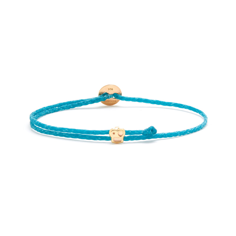 Signature Bracelet with Brian Slider in Turquoise