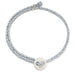 Signature 4mm Bracelet, Silver in Aquaspray